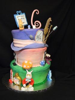 Alice in Wonderland Cake, etc. 231
