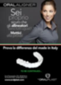 Allineatore invisibile Oral Aligner