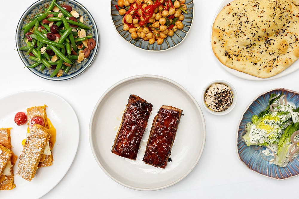 View of all the constituent parts of the meal kit. Darren Wogman |Hungry Darren|