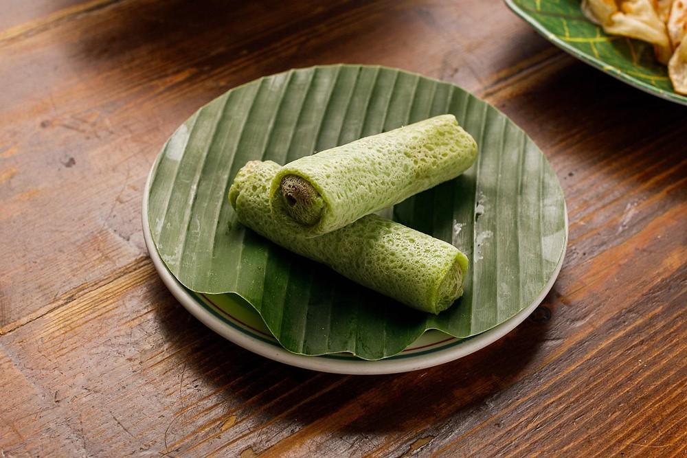 Kuih Dadar from Roti King's Malaysian Feast. Darren Wogman |Hungry Darren|