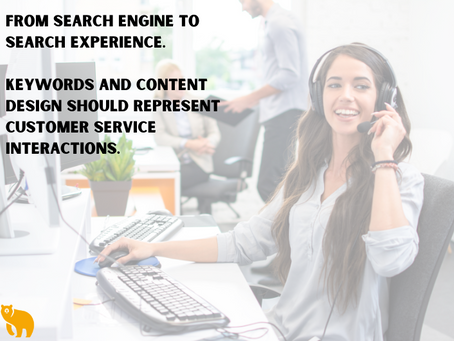 The Next Era of Search - Experience not Engine Optimization