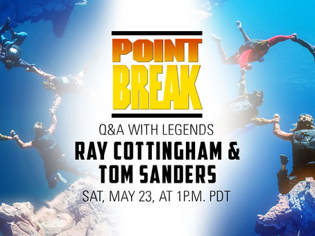 Point Break Q&A with Legends Ray Cottingham & Tom Sanders