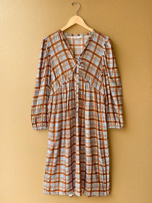 Tartan Prairie Dress