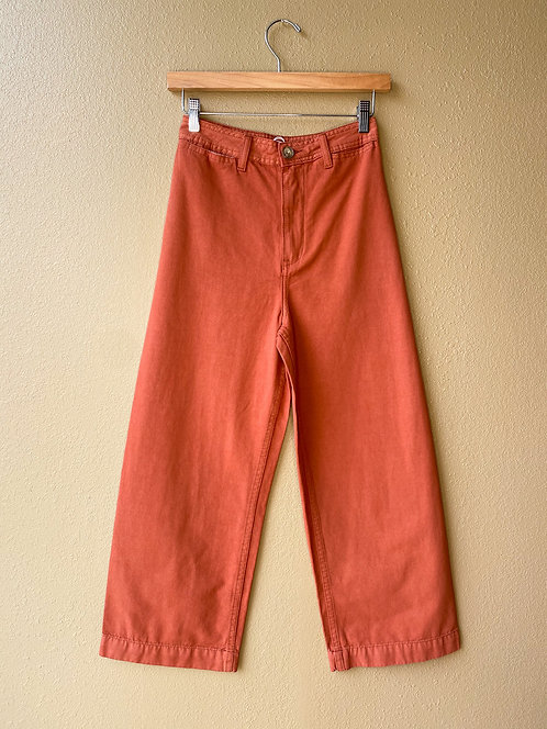 Jenna Pant in Terracotta Clay