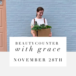 Beautycounter With Grace