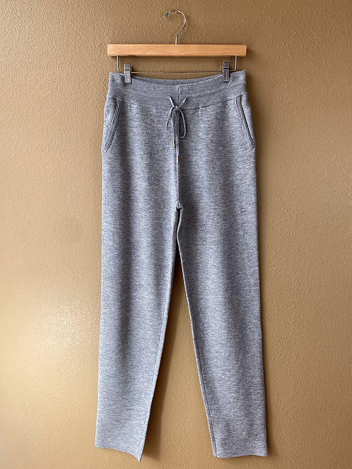 Gray Sweater Pants