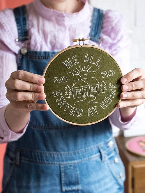 Cotton Clara Embroidery Kits