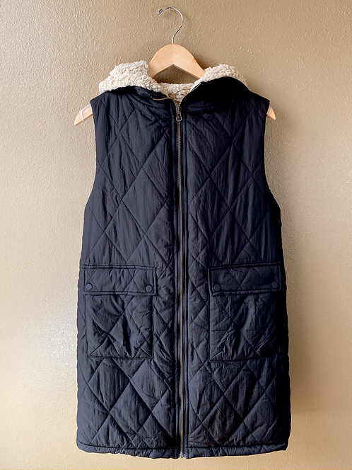 Fur Longline Vest
