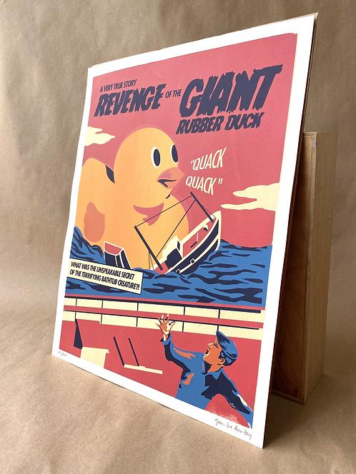 Revenge of The Giant Rubber Duck