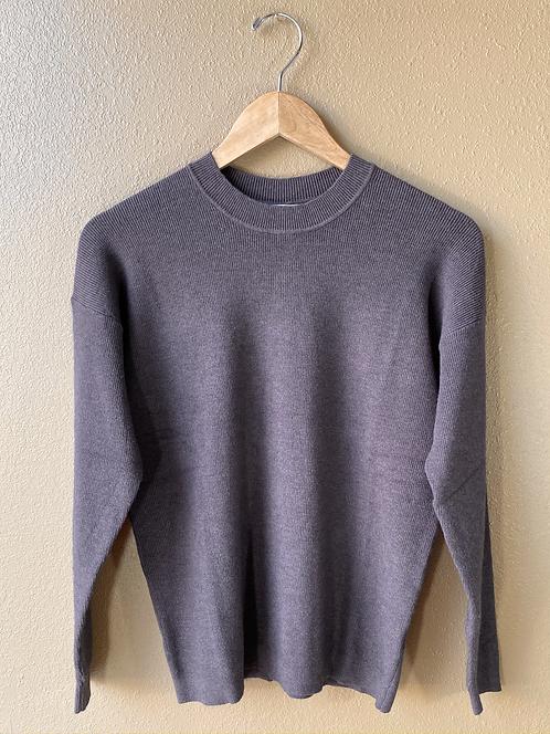 Chrisley Button Back Sweater