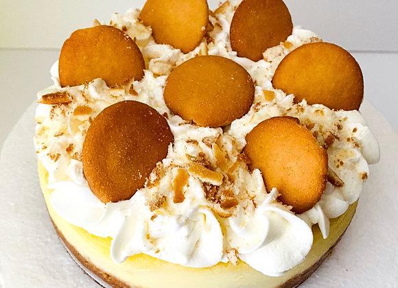Small Banana Pudding Cheesecake (serves 4 - 8)
