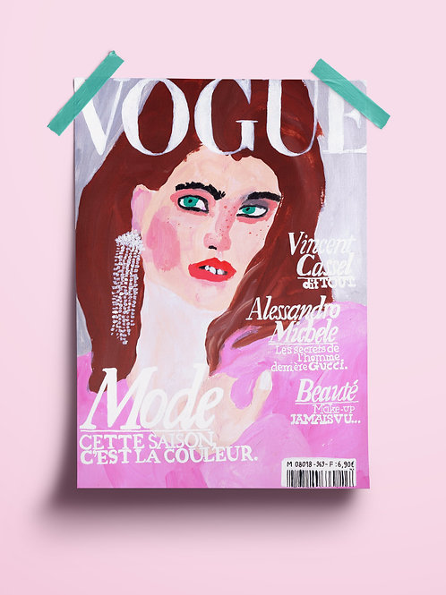 Fake Vogue Cover