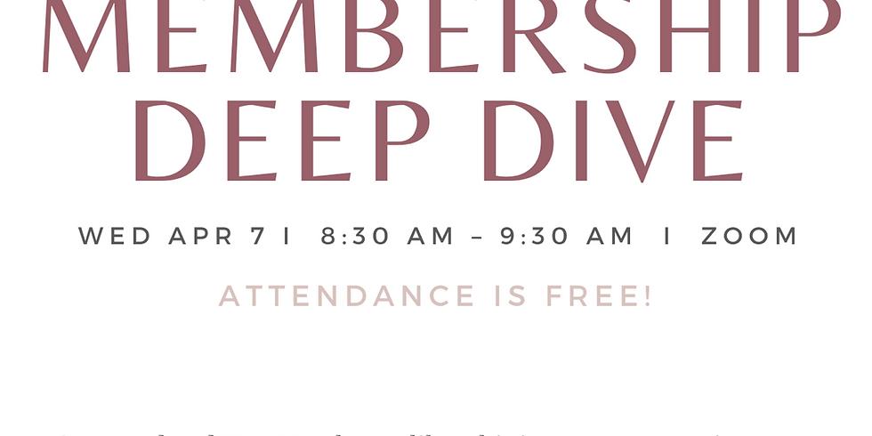 April Membership Deep Dive