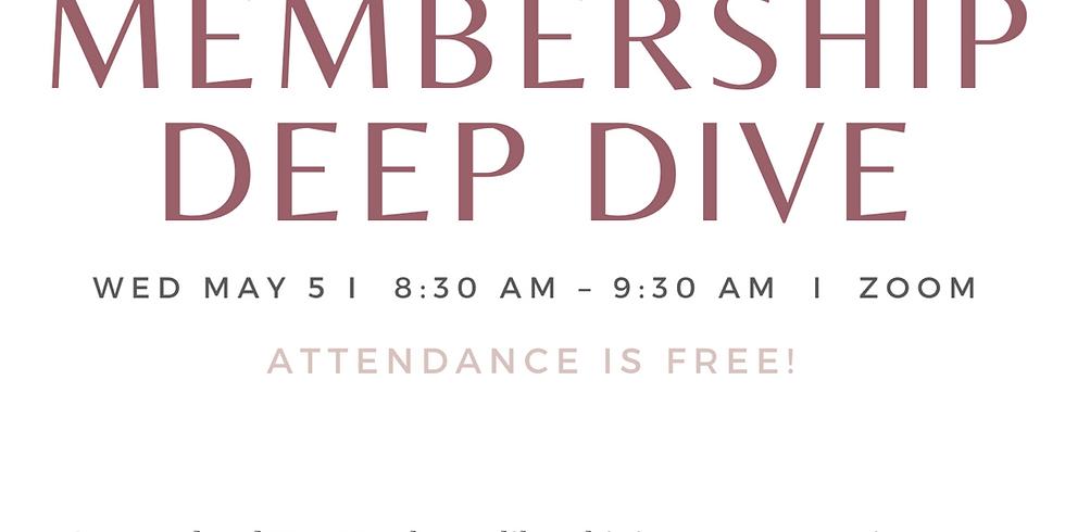May Membership Deep Dive