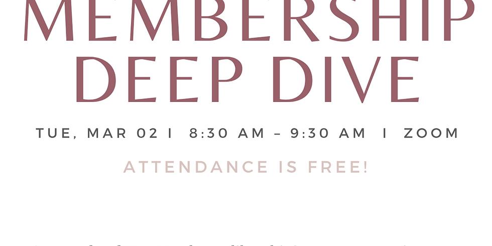 March Membership Deep Dive