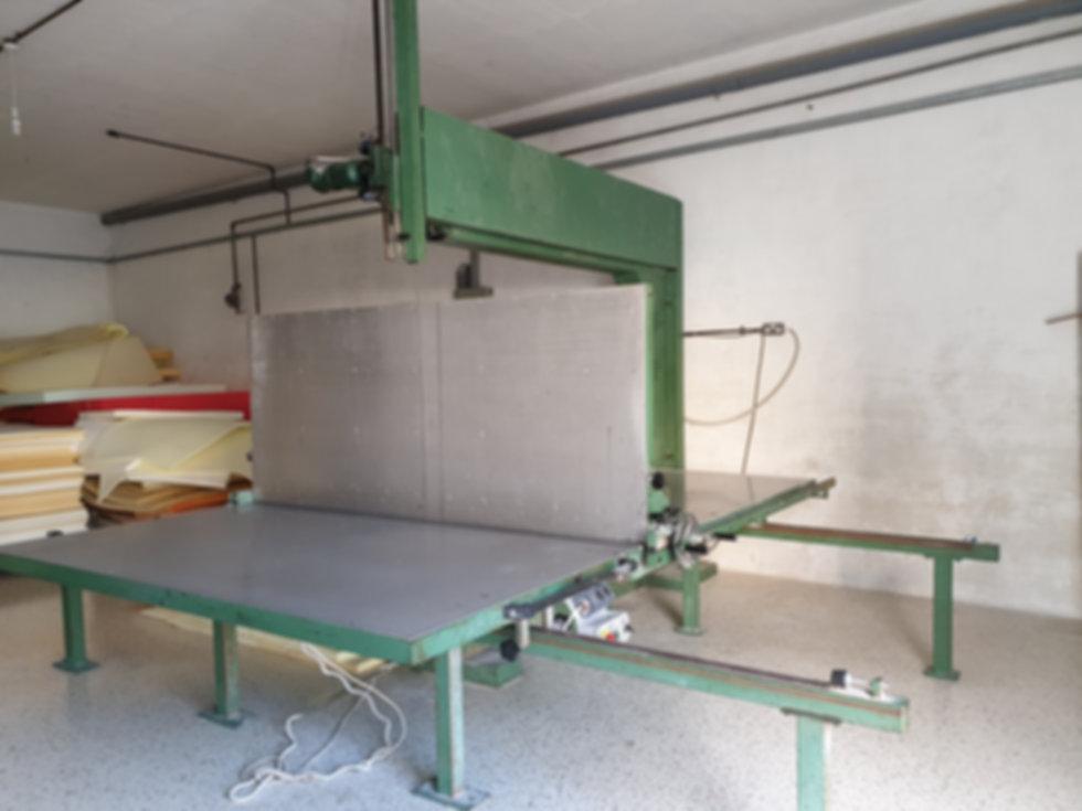 Foam Saw Cutter Machine