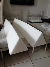 Triangular Foam Cuts