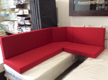 Custom Red Seats