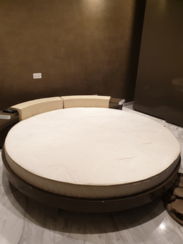 Custom Circular Memory Foam Mattress