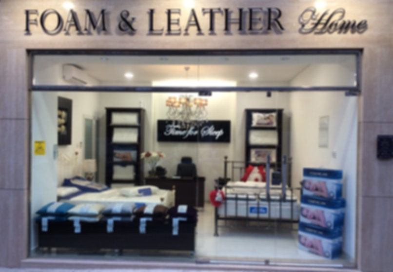 Foam And Leather Shop Front