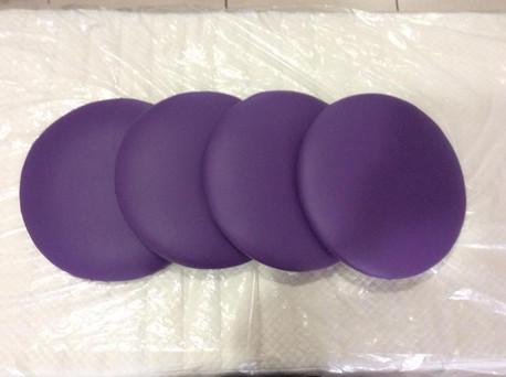 Purple Bench Seats
