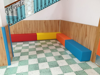 School Project Foam Benches