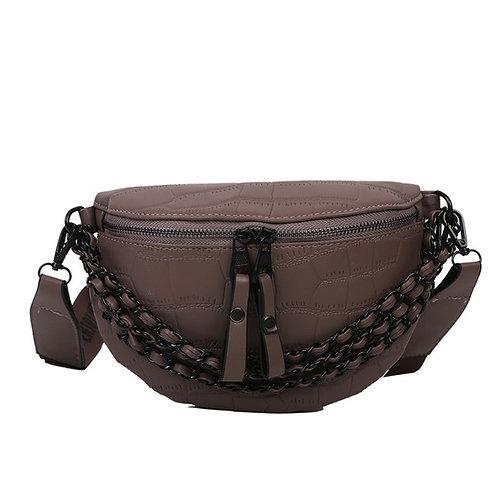 Trendy Wide Shoulder Messenger Bag