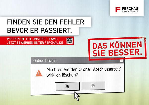 Ferchau Recruiting Kampagne