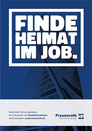 Frauenrath Recruiting Kampagne 2020