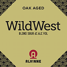 Alvinne Wild West Blond Sour 0,33l