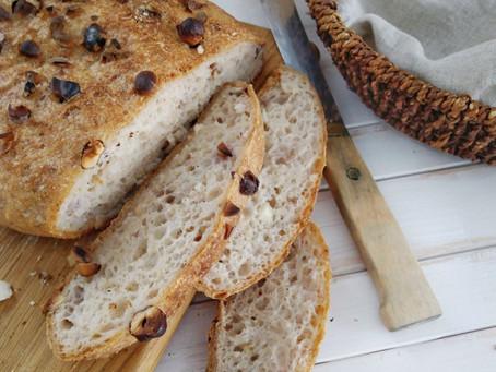 Nutty no-knead gluten-free bread