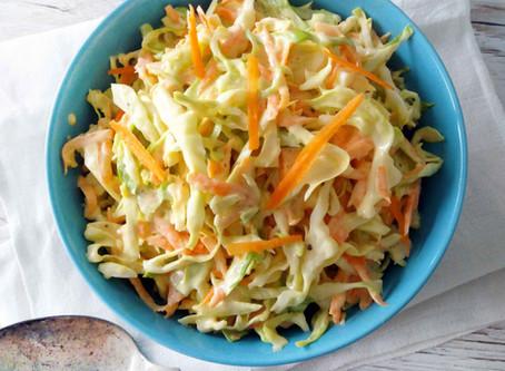 Vegaaninen coleslaw