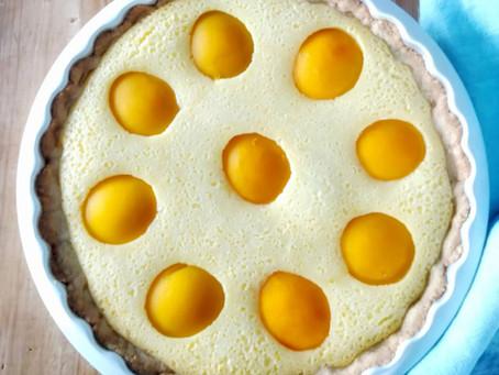 Gluteeniton ja maidoton persikkapiirakka