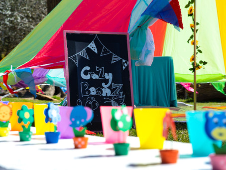 Outdoor children's parties 2021. Upcycle and DIY picnic projects you can do too!