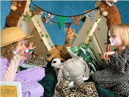 Sleepover dens and Glamping parties