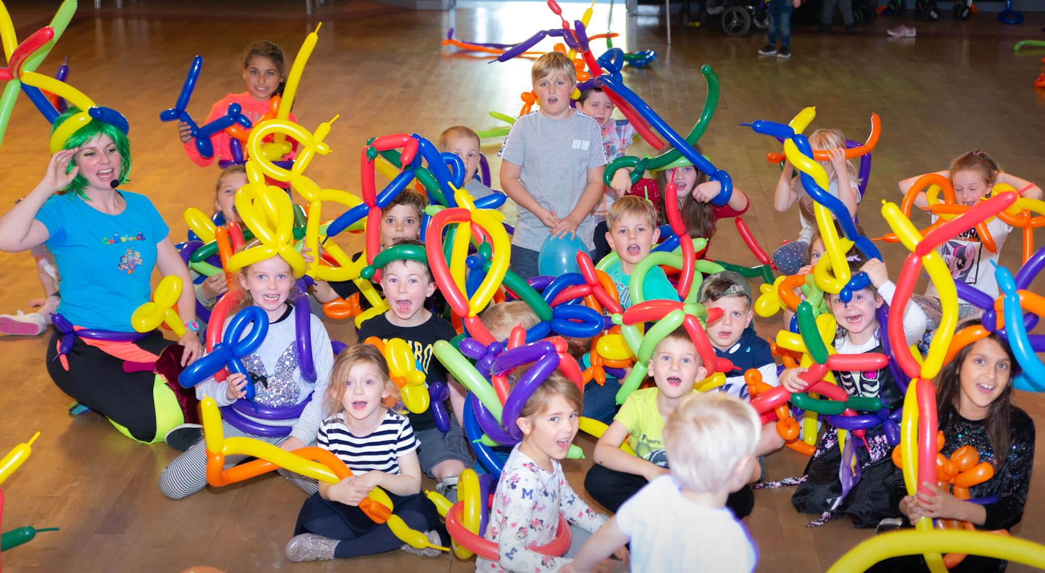 Balloon Modelling Workshop Over 7s