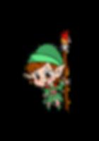 Christmas elg, children's entertainer