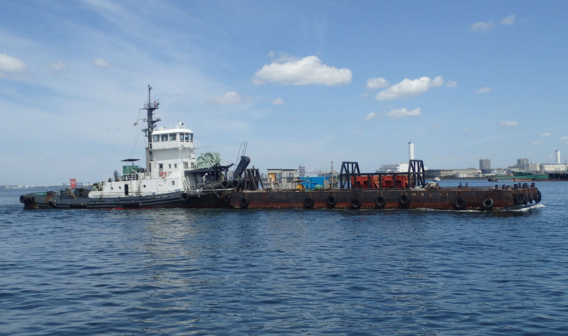 均し台船 MSL-1