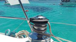 Favignana in barca