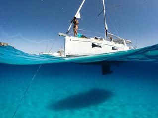 Egadi in barca a vela con il 20% di sconto
