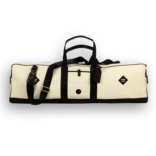 The Williamsburg Fencing Bag - Vintage White