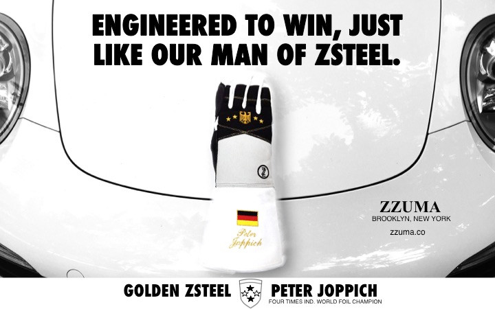 Engineered to win, just like our man of ZSTEEL. Peter Joppich. ZZUMA & Co