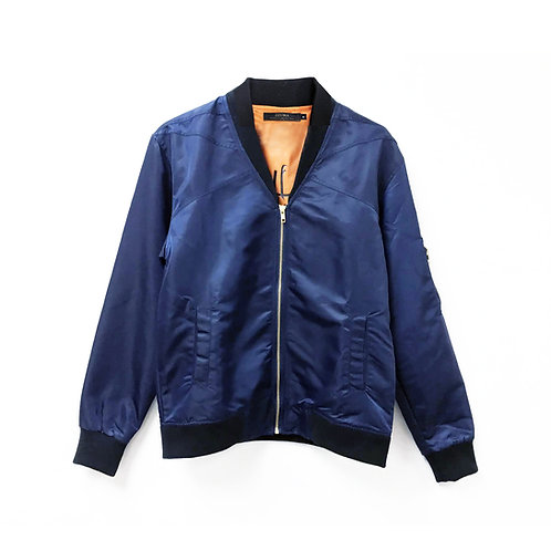 FIGHTER JACKET - DEEP BLUE