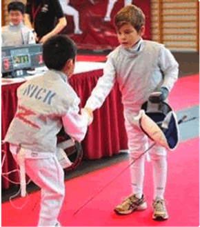 Fencing for all ages from children to youth to adults