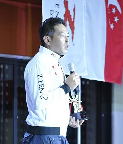 aoki yusuke Z Fencing Expert Advisor Panel Olympic Dream