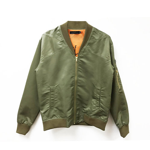 FIGHTER JACKET - COMBAT GREEN