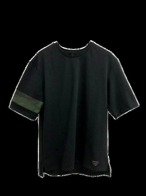 COMBAT TEE - BOLD BLACK