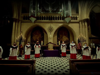 Advent Lessons and Carols from the American Cathedral in Paris.