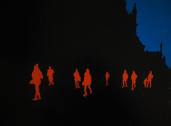 'City Scene #2' Giclée Print