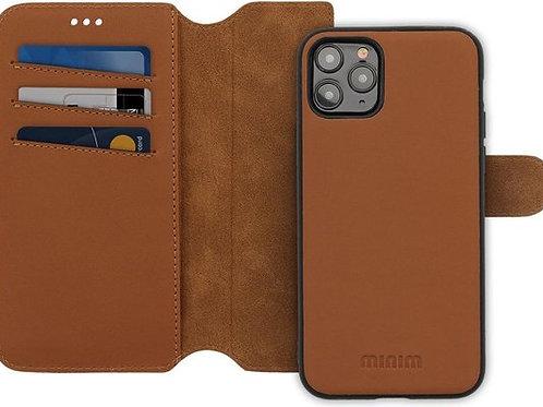 Minim 2 in 1 Wallet Case Apple iPhone Bruin